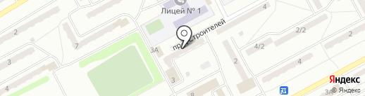 Магазин нижнего белья на проезде Строителей на карте Киселёвска