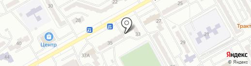 Белоснежка и семь гномов на карте Киселёвска