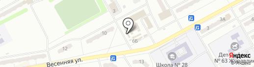 Киоск фруктов и овощей на карте Киселёвска