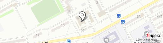 Магазин одежды на Весенней на карте Киселёвска