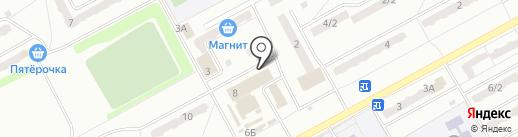Эдем на карте Киселёвска