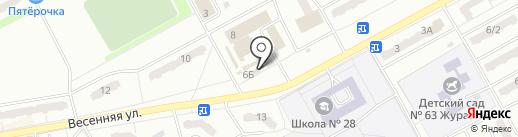Оксинит на карте Киселёвска