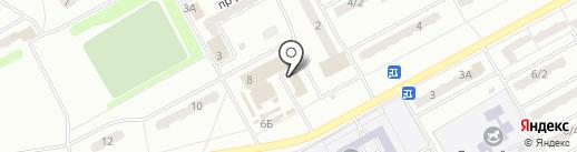 Почтовое отделение №15 на карте Киселёвска
