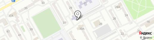 Детская библиотека №5 на карте Киселёвска