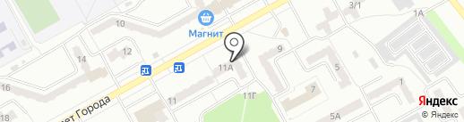 Urbano на карте Киселёвска