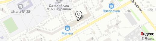 Империя-ломбард на карте Киселёвска