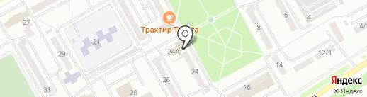 Отдел полиции Красный камень на карте Киселёвска