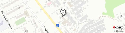 Генстрой на карте Киселёвска