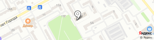 Кузбассэнергосбыт на карте Киселёвска