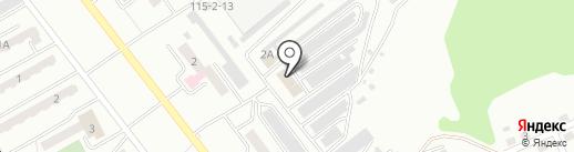 АЛТРАНС на карте Киселёвска