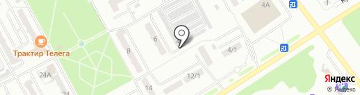 Автостиль на карте Киселёвска