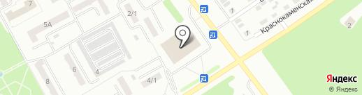 Центр золото на карте Киселёвска