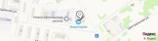 Библиотека на карте Новосафоновского