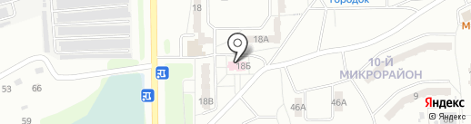 Общая врачебная практика №2 на карте Прокопьевска
