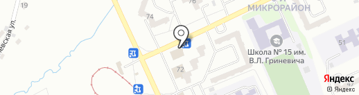Крюгер на карте Прокопьевска