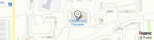 Почтовое отделение №10 на карте Прокопьевска