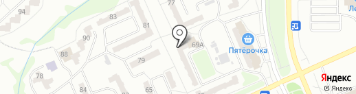 Дом на карте Прокопьевска