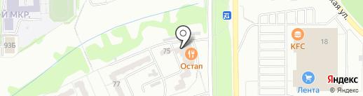 Мюнхен на карте Прокопьевска