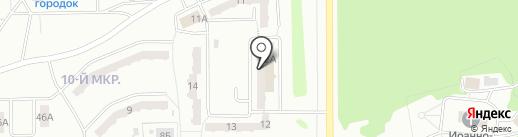 Энергия уюта на карте Прокопьевска