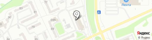 Экология дома на карте Прокопьевска