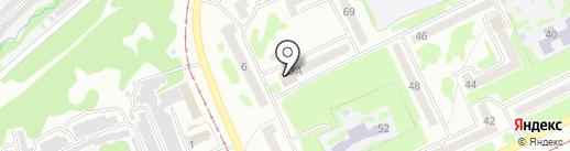 Юлиан на карте Прокопьевска
