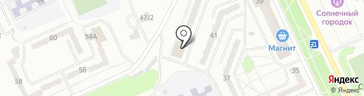 Церковь Воскресения Христа на карте Прокопьевска