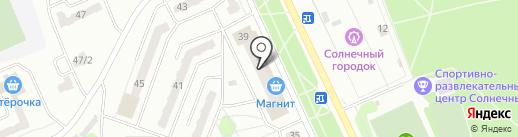 Лиза на карте Прокопьевска