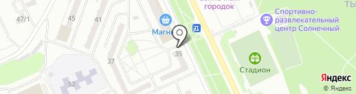 Мастерская по ремонту часов на карте Прокопьевска