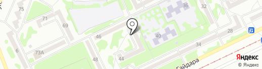 Почтовое отделение №47 на карте Прокопьевска