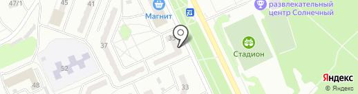 Магазин цветов на карте Прокопьевска