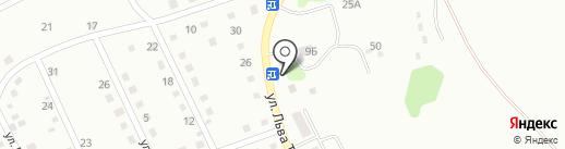 Маяк на карте Киселёвска