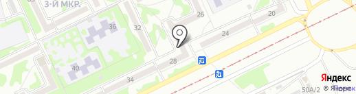 Лео на карте Прокопьевска