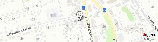 ААБР-Пультовая и Физическая Охрана на карте Киселёвска