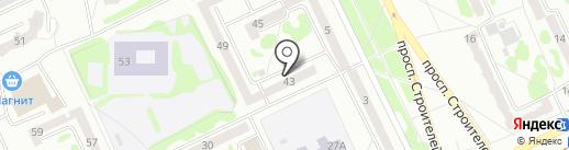 Библиотека №5 на карте Прокопьевска