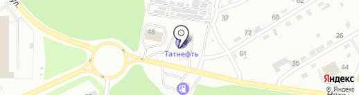 АЗС Татнефть на карте Прокопьевска