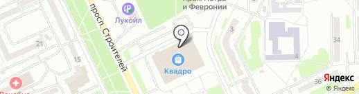 Готовая оптика на карте Прокопьевска