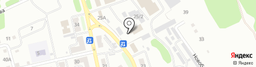 Метелица 2 на карте Киселёвска
