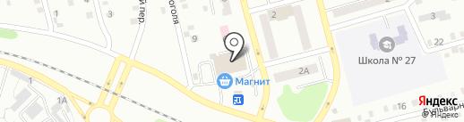 От А до Я на карте Киселёвска