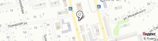 GLANCE на карте Киселёвска