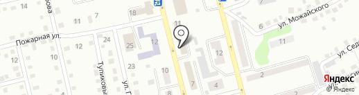 Сбербанк, ПАО на карте Киселёвска
