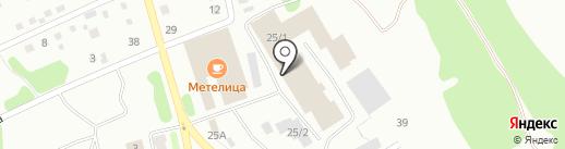 Стройсити на карте Киселёвска