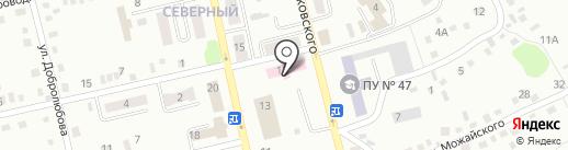 Противотуберкулезный диспансер г. Киселёвска на карте Киселёвска