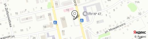 Городская больница №2 на карте Киселёвска
