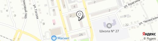Шварцкопф на карте Киселёвска
