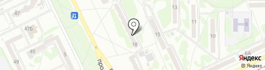 Служба грузоперевозок на карте Прокопьевска