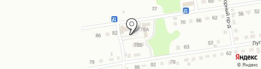 Целлер на карте Киселёвска