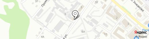 Сластена на карте Киселёвска