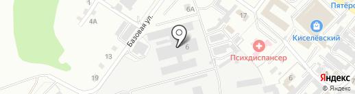 Кемсоцинбанк на карте Киселёвска