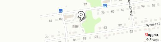 Стеклоград на карте Киселёвска