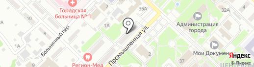 Мебельный салон на карте Киселёвска